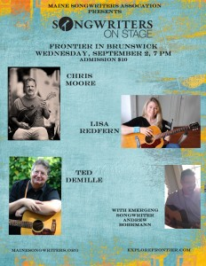 Songwriters on Stage September